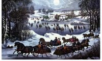 Currier and Ives Sleigh Ride